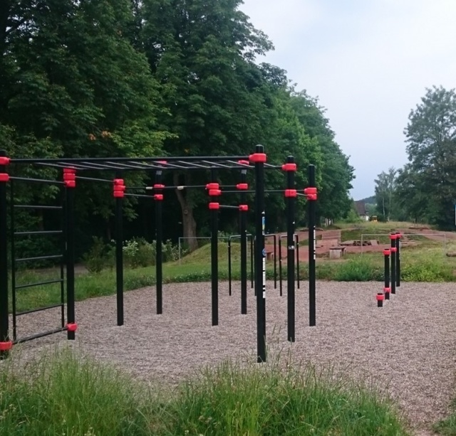 Calisthenics-Anlage in Oberthal